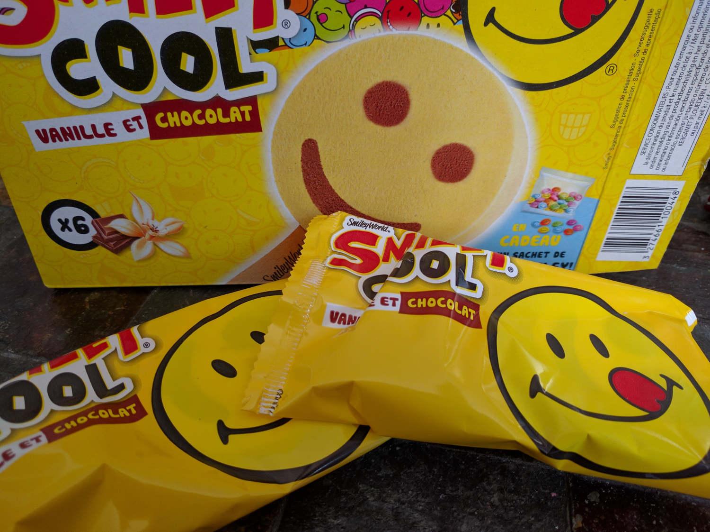 Smiley Cool vanille et chocolat