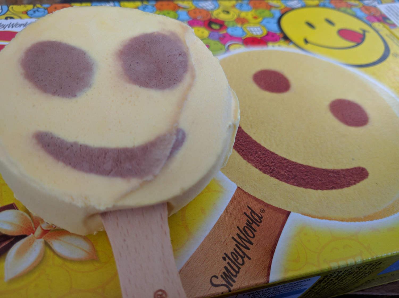 Smiley Cool vanille & chocolat